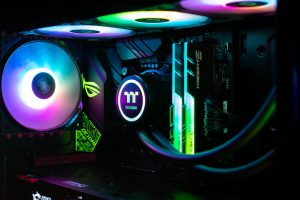RGB lighting and water cooling
